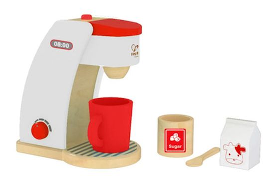 Red Coffee Maker | HAPE Toys | Buy online at DirectToys NZ