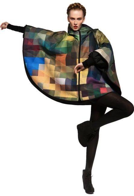 Binzento Vincente: Maxjenny Multi-color Raincoats/ Yayoi Kusama x Louis Vuitton Summer Collaboration