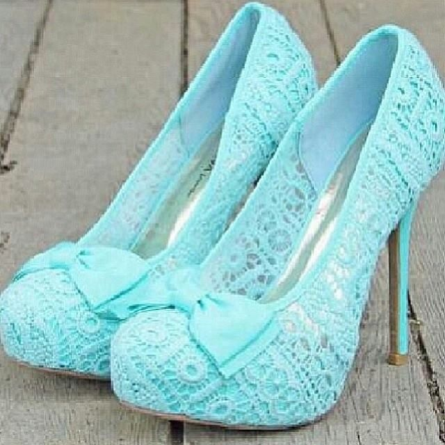 I'll be honest these are pretty cute shoes. Though, I could very possibly break my ankle trying to walk in them.