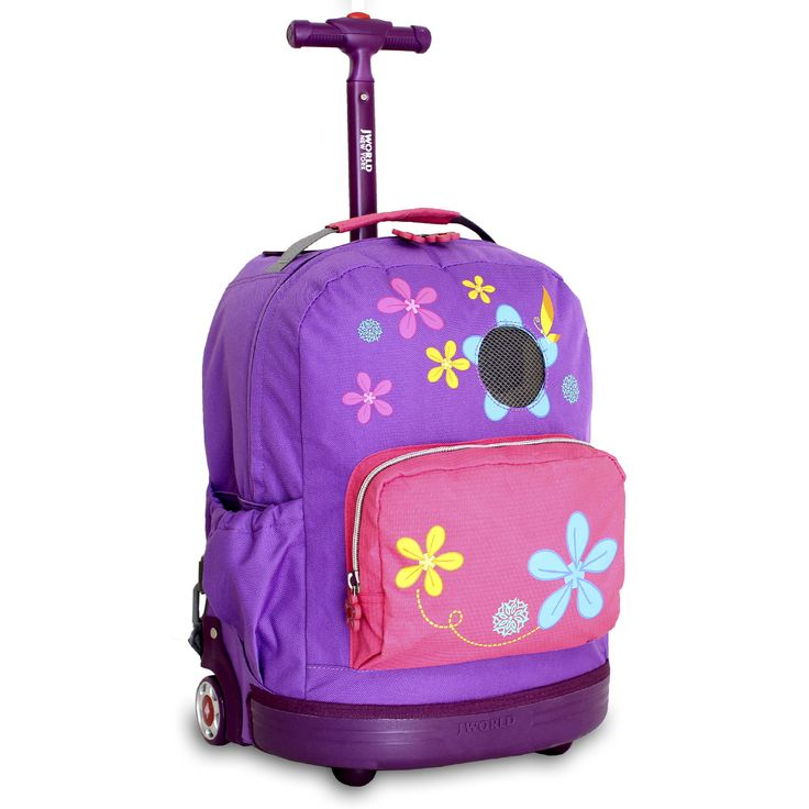 Aroma Kid's Rolling Backpack