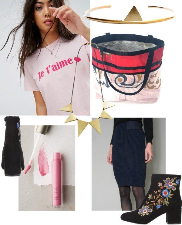 Sustainable fashion can be budget conscious, and so can a sustainable Valentine's Day. Check out this budget conscious sustainable outfit here.