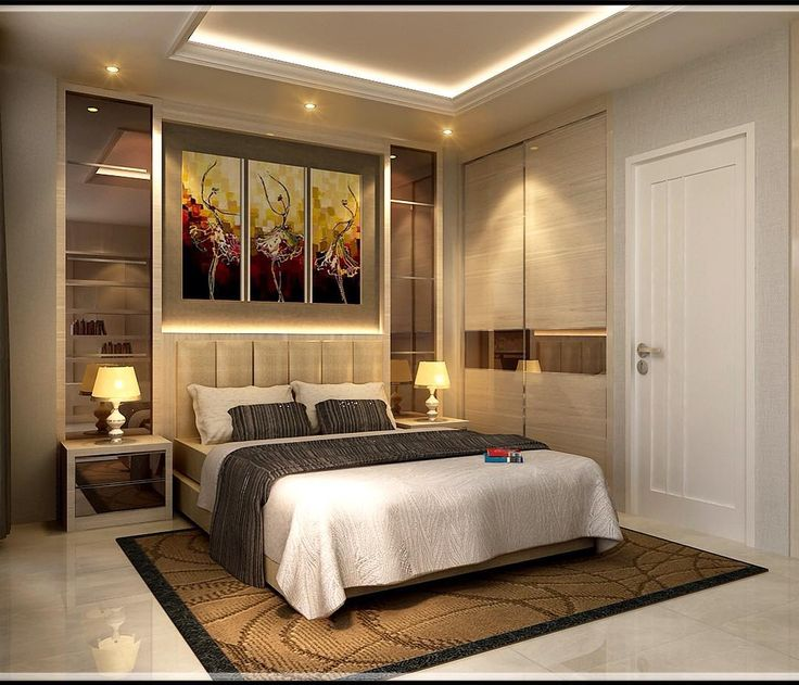 Bedroom Concept In 1 Appartement Located Downtown Of Jakarta Furniture Design