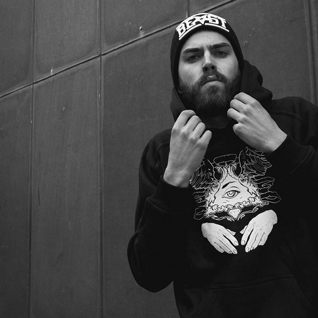 "CRMC X @miri_arake ""Veni Vidi Vici"" Pullover Hood & ""BEAST"" Beanie Available at www.crmc-clothing.co.uk 