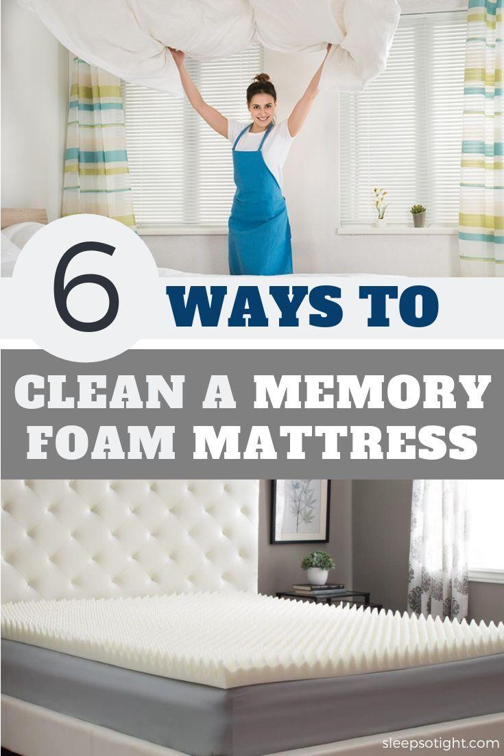 How To Clean A Memory Foam Mattress Topper In A Few Simple Steps Memory Foam Mattress Topper Bed Mattress Memory Foam Foam Mattress Topper