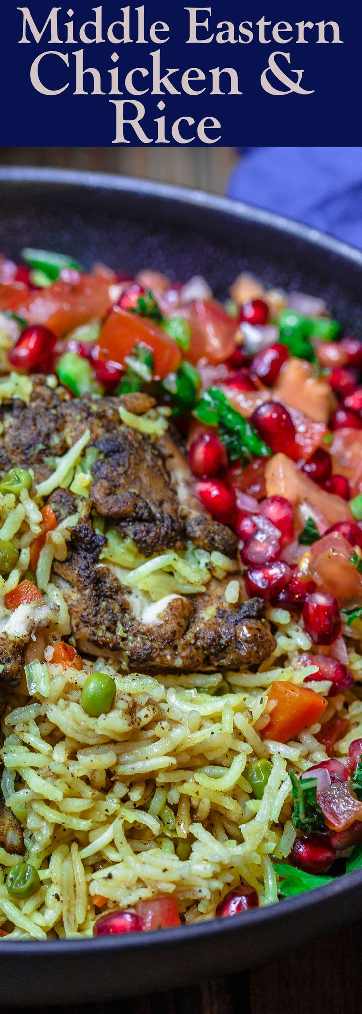 Middle Eastern Chicken and Rice | The Mediterranean Dish