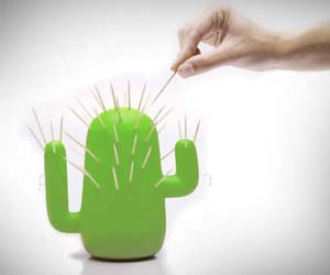 1000 images about embrina apartment on pinterest ice cubes super mario bros and minecraft - Cactus toothpick holder ...