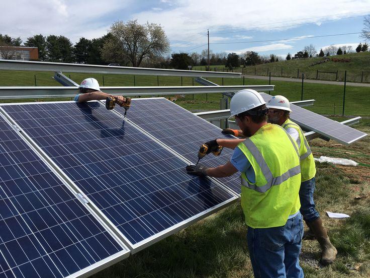 A Look At Virginia S First Community Solar Effort Solar Solar Panels House Design Photos