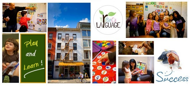 Tribeca Language is New York's premier language school for children (ages 2 and up) and adults.