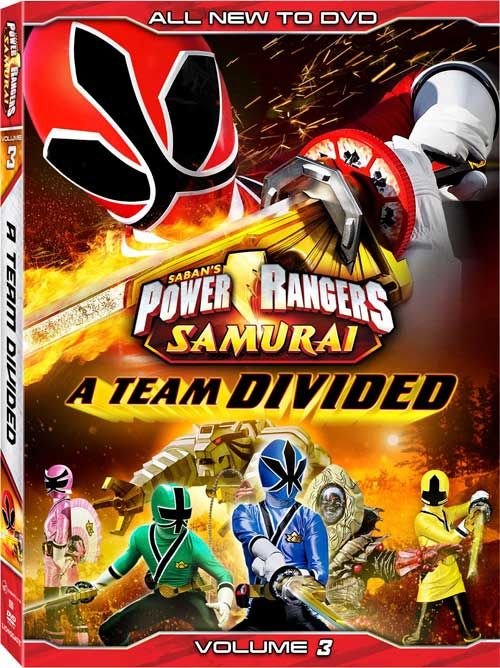 Power Rangers Samurai - New DVD Titles for the 1st Season and the 'Super' 2nd Season