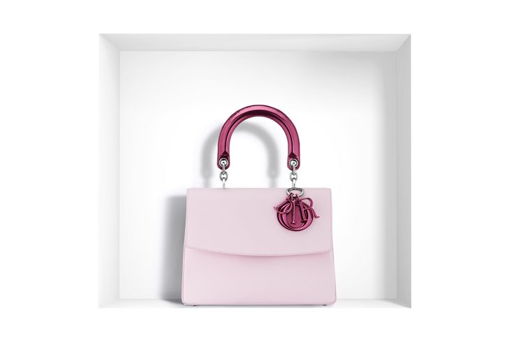 "Small ""be dior"" bag in pale pink calfskin - Dior"