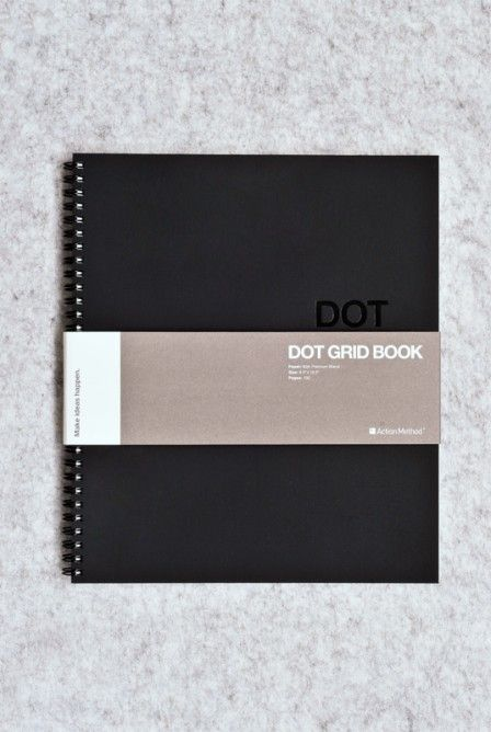 Behance - Dot Grid Book - 22x27cm