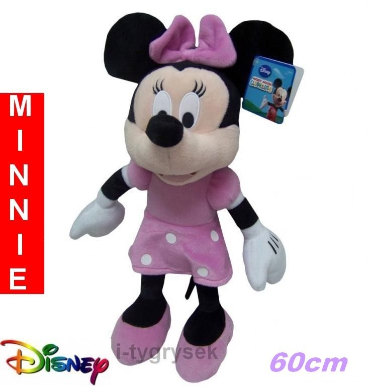 DISNEY Myszka Minnie pluszowa przytulanka 60cm