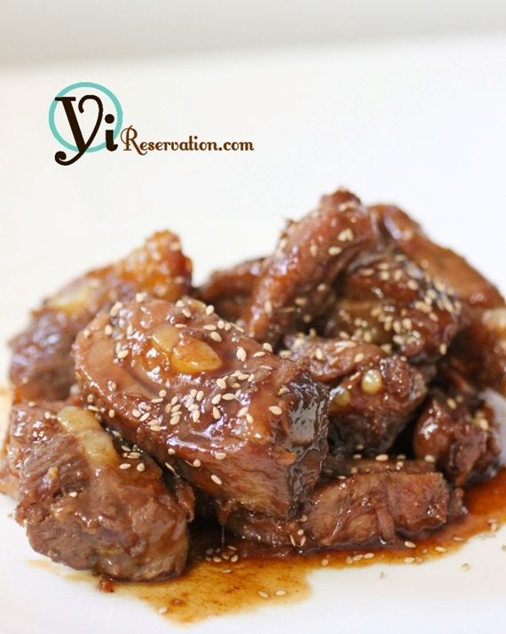 Chinese Sweet and Sour Spareribs (糖醋排骨) | Yi Reservation