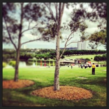 Bicentennial Park Sydney Olympic March 2013