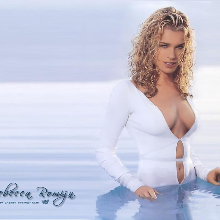lovable Rebecca Romijn ...Delectable Beauty...