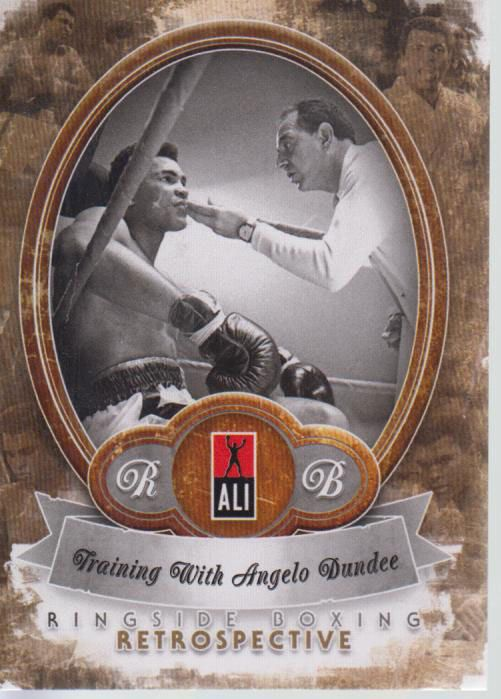 Muhammad Ali 2011 Ringside Boxing 2 Training With Angelo Dundee 6/10 #2