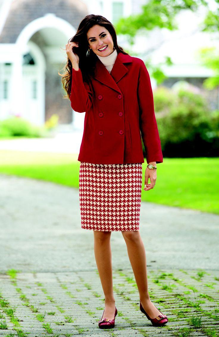 مدل کت دامن پاییزی زنانه و دخترانه شیک