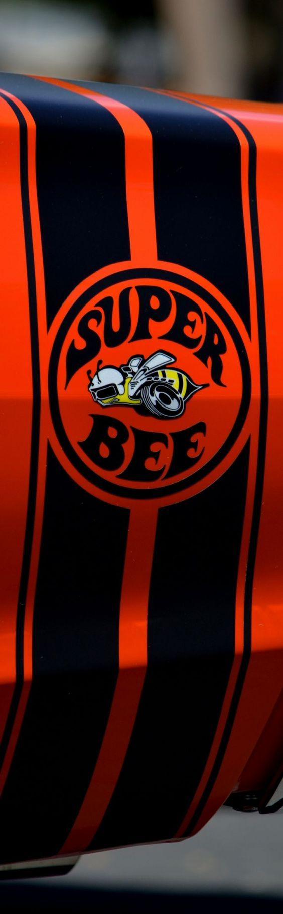 1971 Dodge Charger Super Bee Bumble Bee Stripe