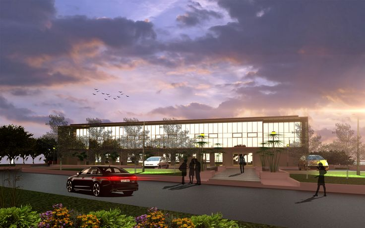 project sedimentation laboratory exterior design building
