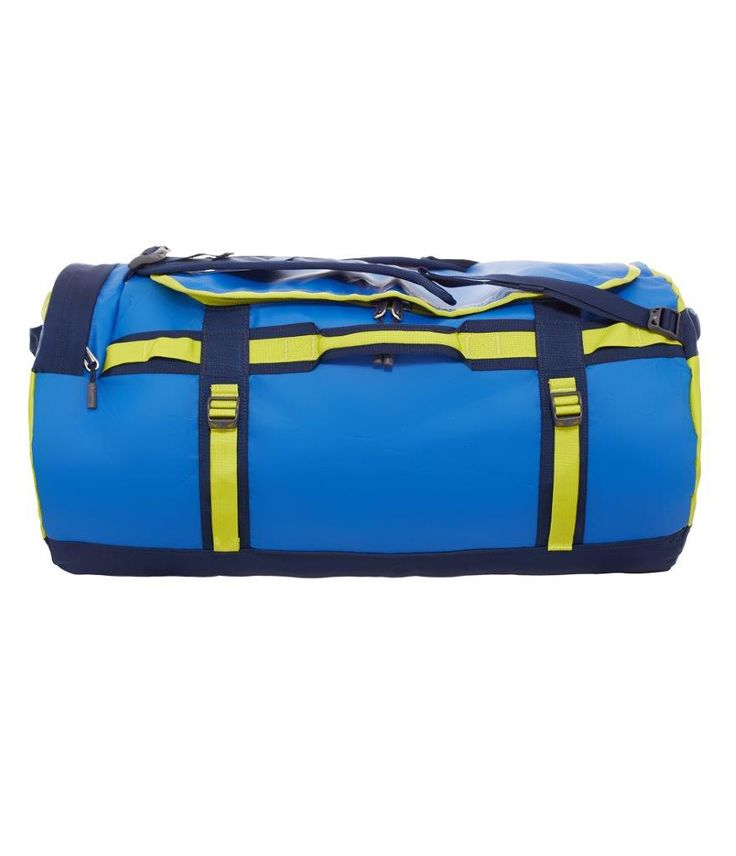 De lækreste North Face Base Camp Duffel L, CWW1-DHZ, Monster blue/Vemon yellow  Rejsetasker til Kufferter i luksus kvalitet