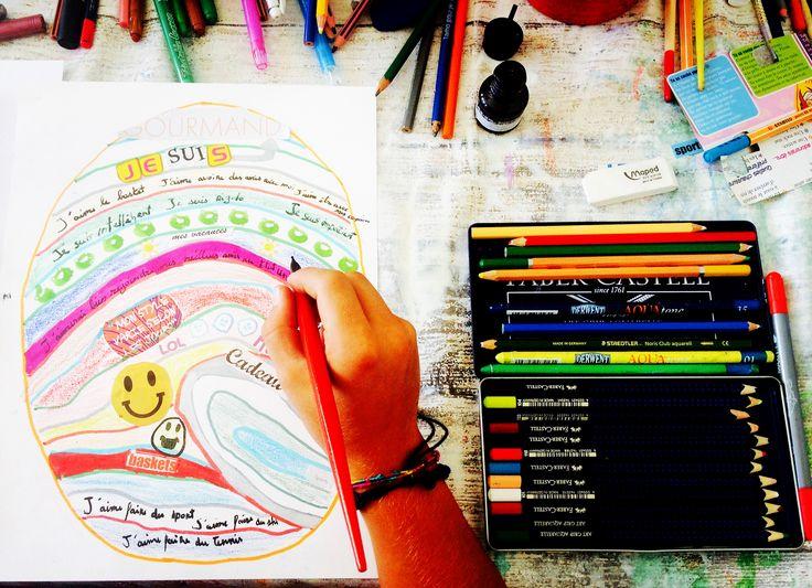 Art Therapy and Creative Writing; Identity, Fingerprints#artthérapie#écriturecréative#sabrinamazzola