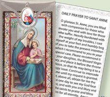 Prayer Card to St.Anne.