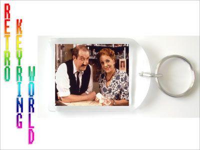 ALLO ALLO retro UK TV Keyring free P - Retro TV keyring / keychain. ONLY  £1.99