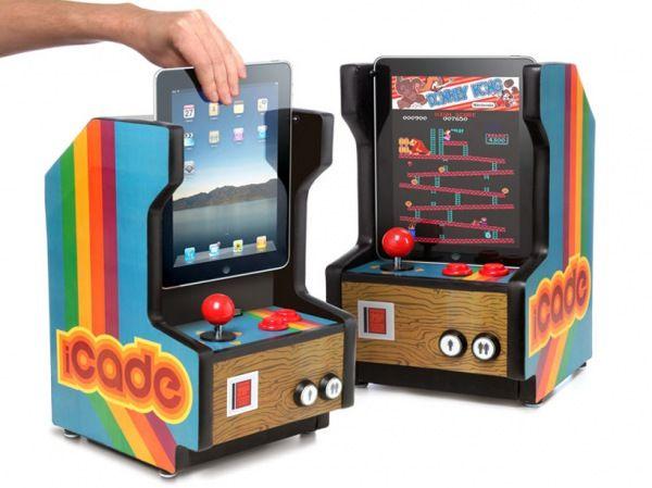 Awesome gadget: Arcade Cabinets, Old Schools, Idea, Gadgets, Videos Games, Ipad Arcade, Oldschool, Arcade Games, Products