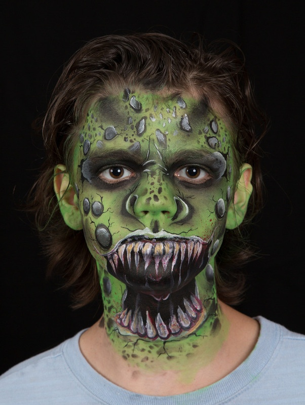 21 best Stylized make up images on Pinterest Beauty products - halloween face paint ideas scary