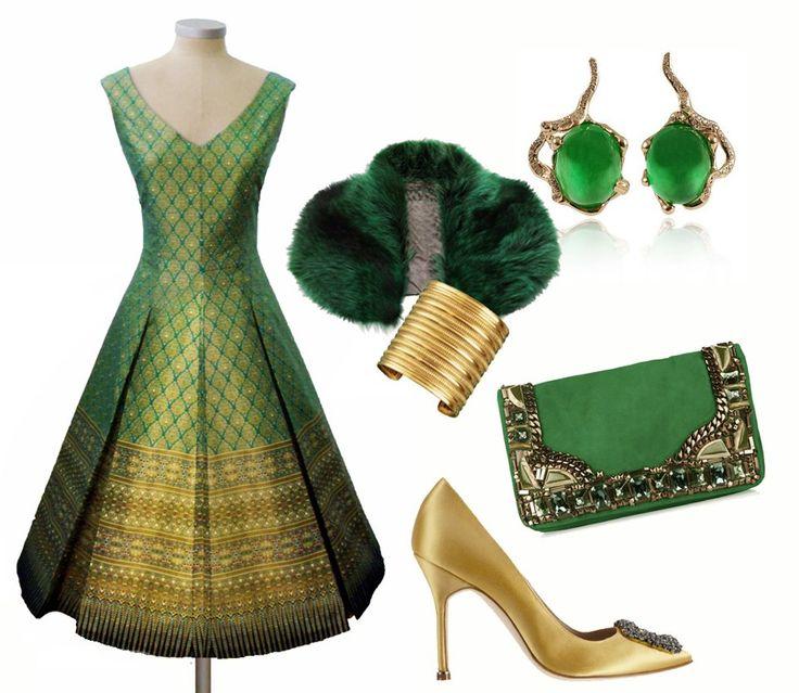 Rita Glyndawood´s HELENA Thai´s Dress.  Glamorous!!!!!