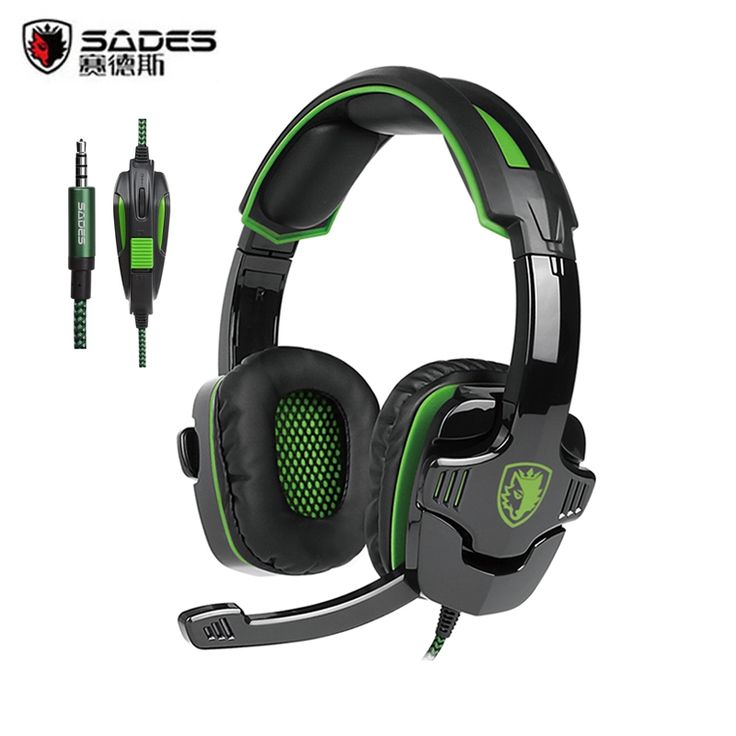 22.99$  Buy now - http://alij0o.shopchina.info/go.php?t=32780887230 - 2016 Newest Sades SA-930 PS4 Headset 3.5mm Stereo Computer Gaming Headphones With Mic For PC Gamer Mobile Phones Mac Tablet MP3   #aliexpresschina