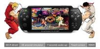 """5"""" HD Android 2.3 Game console Tablet PC Cortex A9 WIFI HDMI camera JXD V5200    Hot Spots:         Android 2.3 pocket tablet pc + game console all in one    5.0-inch(diagonal) Touch Screen in 800*480 resolution    ARM Cortex A9 1GHz CPU + POWERVR SGX531 GPU    256MB RAM    Support Wi-Fi direct    7 Seconds wake-up    HDMI HD video output    Camera    Support Android games(Gravity and Touch), Arcade games, Nintendo SFC games, GBA games, Sega MD games and FC games etc"""