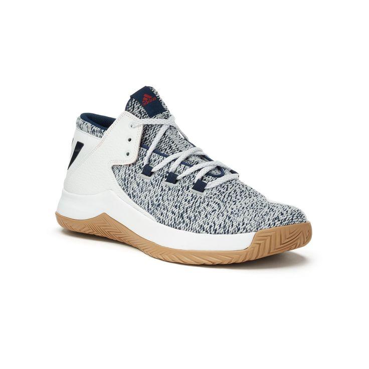 Adidas Rise Up Men's Basketball Shoes, Size: 11.5, Black