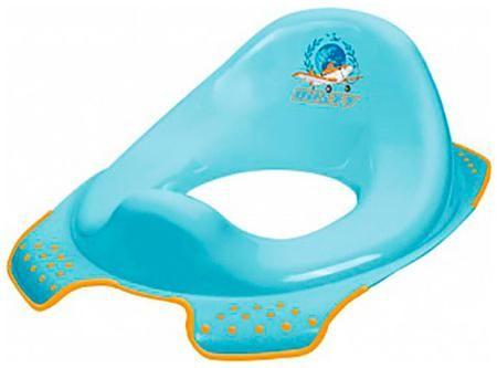 Окт Накладка на туалетокт disney 'самолеты' (голубой)  — 485р. - Рекомендуемый возраст: 2года Простые, безопасные и универсальные накладки на унитаз, облегчающие ребенку самостоятельное пользование туалетом.Благодаря инновационной форме сиденья для унитазов OKT кидс подходят для всех стандартных туалетов. Профилированная форма облегчает Малышу пользование туалетом, противоскользящие края стабильно укрепляют сиденье на унитазе. Цветные картинки с героями сказок Диснея и др. очень прочны и не…