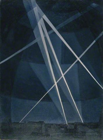 Nevinson, A Front Near St Quentin