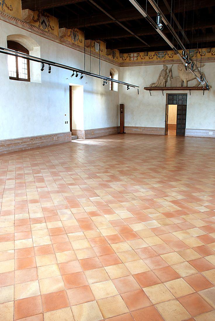 Pavimento in Cotto Possagno e Cotto San Michele Clay Floor Tiles Terracotta