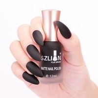 Specification: Capacity: 12ml Color: as the picture shows Matte fast-dry nail polish Package Conte