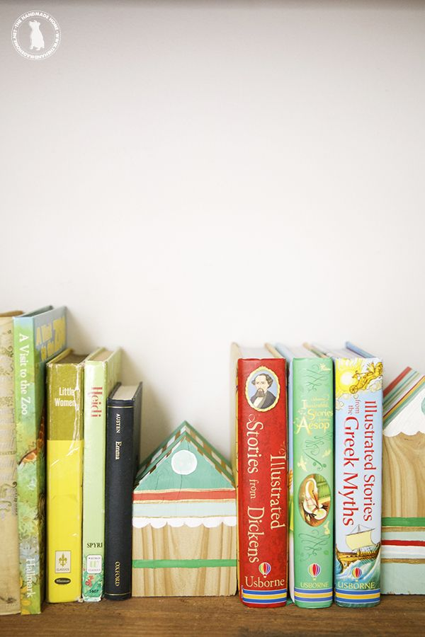 how to make your own bookends - the handmade homethe handmade home