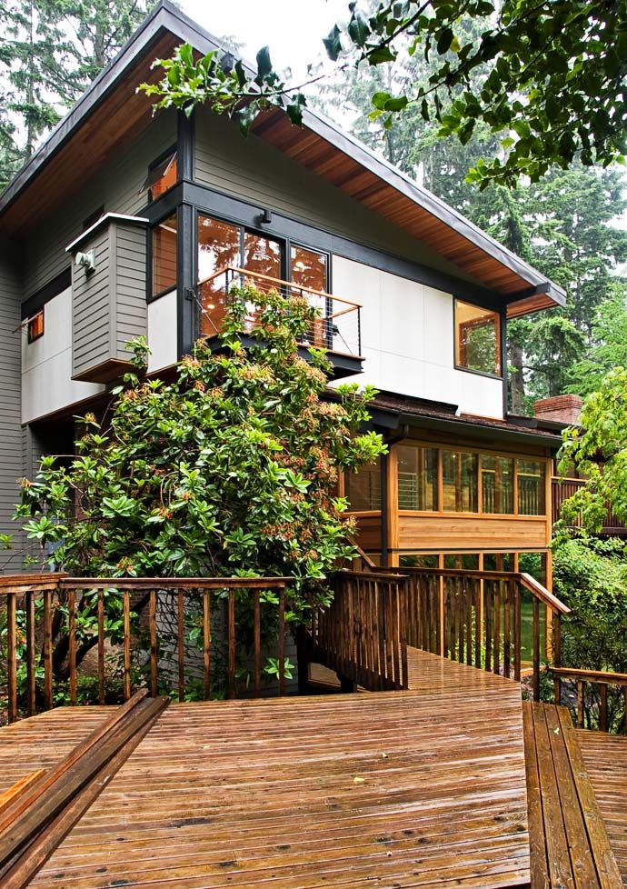 perfect Green Modern Classic House by PLACE Hidden in the Forest