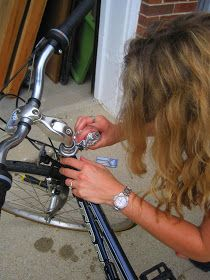 Russet Street Reno: Fixing up my sweet bike