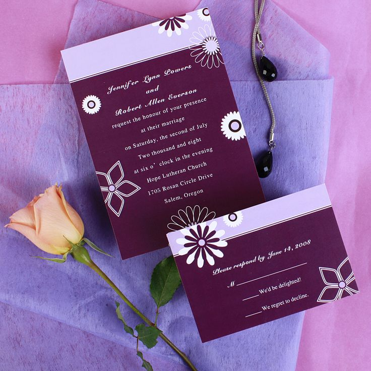24 best Wedding Invitations images on Pinterest | Invitation ideas ...