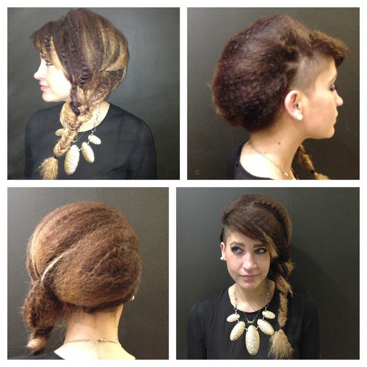 Hair up by Adam ellerton