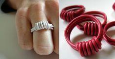 Eco-gioielli fai-da-te: come creare anelli riciclando i cavi elettrici