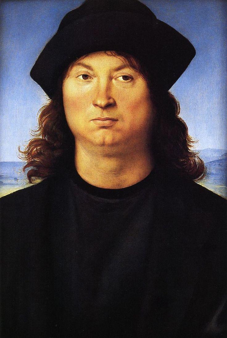 Raphael Portrait of a man cat14 - Raffaello Sanzio ...