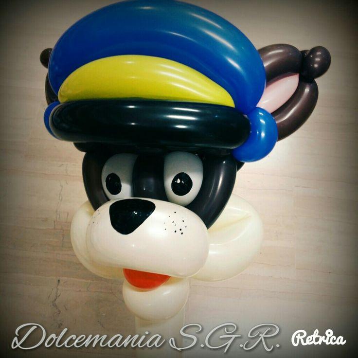 #dolcemania #palloncini #puglia #pawpatrol #chase #dog #cane #police #poliziotto #bau #balloonart #balloon #balloons #sangiovannirotondo #gargano #foggia #festa #art #italy #italy #paw #patrol