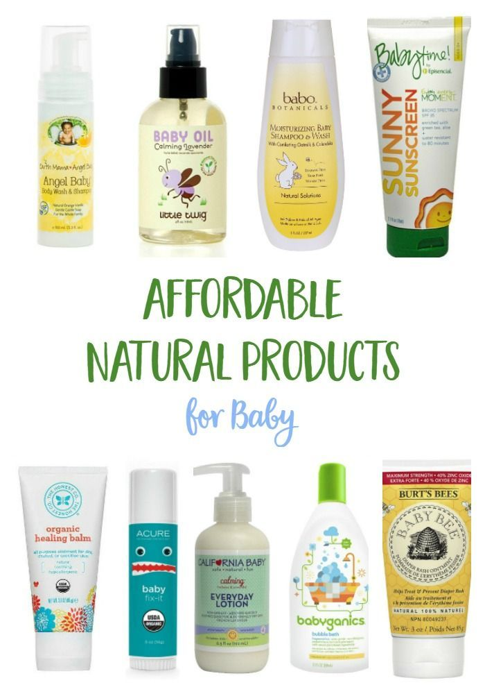 Affordable natural baby care products that you can easily find on your next trip for diapers or groceries!   baby products | baby skin care | natural products | eco baby | organic products | organic baby | mindful momma