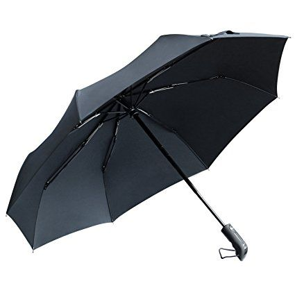 %90 off save $80 TOTU Windproof Umbrellas Auto Open Close Folding Golf Strong Durable Compact Travel Umbrella Reinforced Ribs 60 MPH Windproof Canopy and Slip-Proof Handle, Portable Lightweight Easy Carrying Black