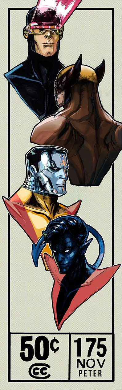 The X-Men by Peter V. Nguyen