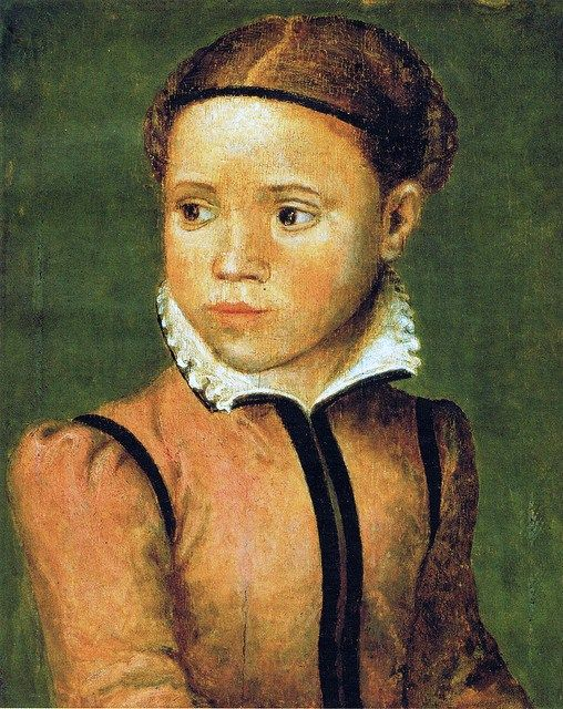 Sofonisba Anguissola (1532-1625) Portrait of her sister Anna Marias
