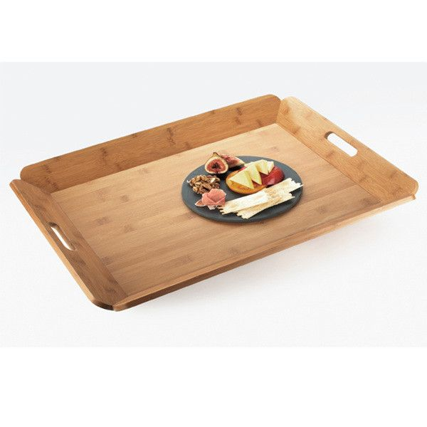 22.5W x 17D x 1.5H Bamboo Room Service Tray/Case of 6